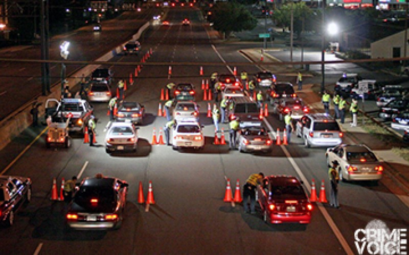 Sobriety Checkpoint Snags 5, Cites 18
