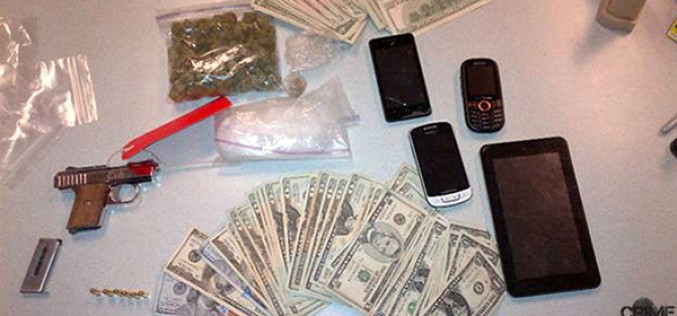 Routine Traffic Stop Produces Guns, Money, & Drugs