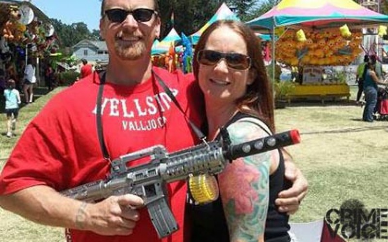 Hells Angel and Former CHP Dispatcher Nabbed On Weapons Charges