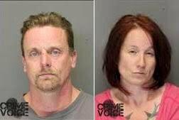Dennis and Sarah Killough mugshots (Yolo County SD)