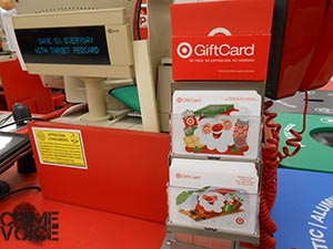 Target Gift Cards proved to be a popular incentive to bring in guns.
