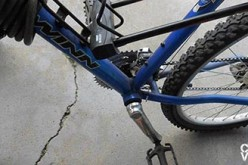 Female Bike Thief Captured by Library Security