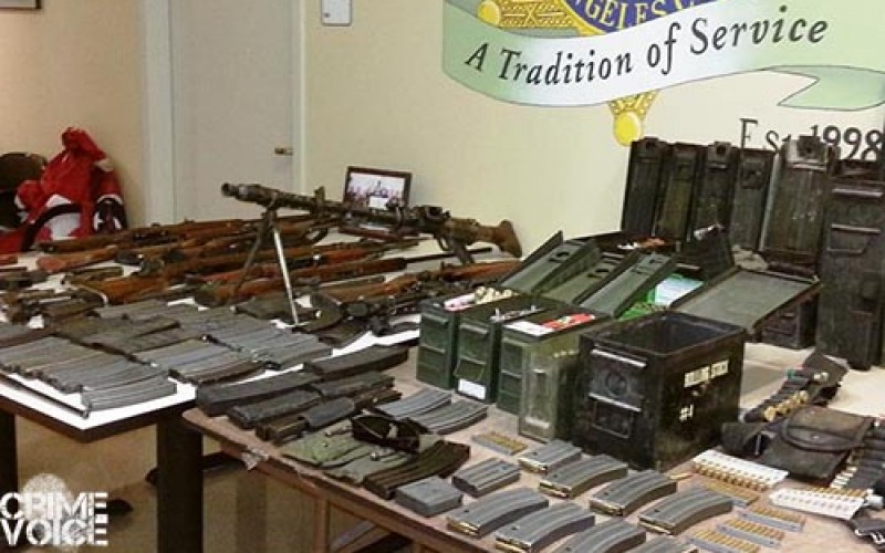 'White Power' weapons stash discovered near Palmdale