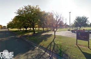 Alta Mesa Park - the scene of the Sunday evening murder.