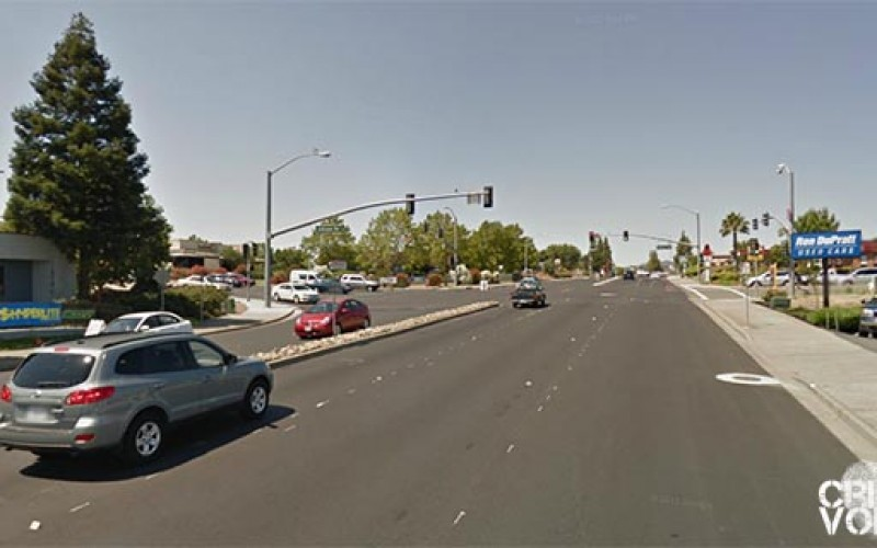 Vacaville PD Officer Injured in Pursuit