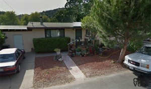Deputies had to force entry into the Clearlake Oaks home on the domestic disturbance call.