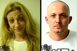 Meth addled couple arrested in traffic stop