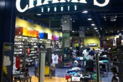 Employee practically gives away shoes to Champs Sports shoppers