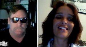 Dave Tinney and Marialena Hampton (Facebook)
