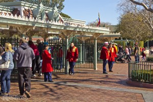 After much anticipation, victims were either turned away or opened their wallets at Disneyland's main gate.