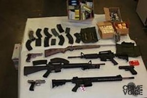Guns seized in this operation