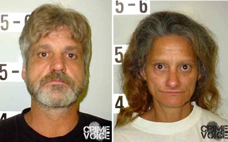 Couple found with meth, gun and toddler