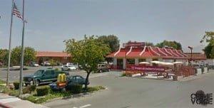 The three men were at the Hollister McDonalds on San Felipe.