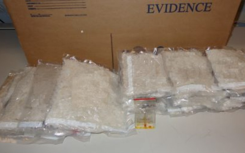 Border Patrol Agents Find 12 Pounds of Meth