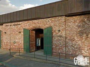 Redding Police Station, where Level attacked a stranger