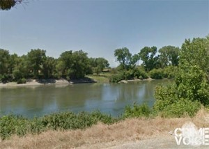Araujo abandoned the car and his companion to try to swim the Sacramento River