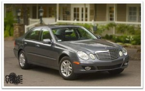 Police are still looking for the charcoal gray Mercedes used in the homicide.