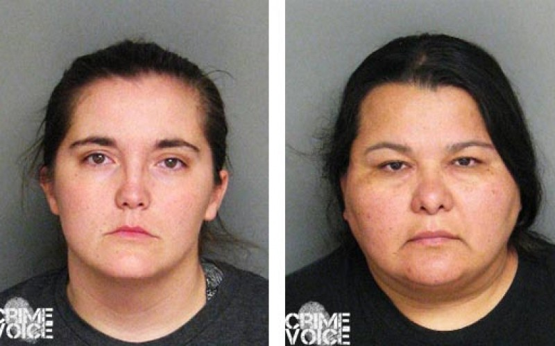 Two Women Arrested for Child Neglect