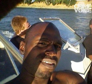 Baker (in back) with Pittman boating last summer (Facebook)