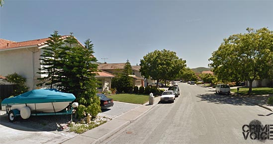 The home invasion occurred in this upscale Milpitas neighborhood