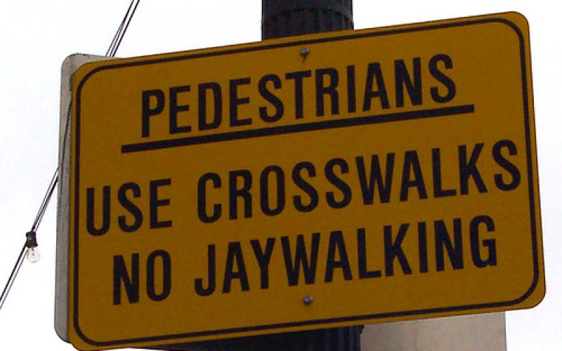 She Came a Long Way to Jaywalk, Baby