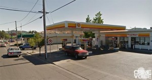 Ms. Rosales was arrested prior to leaving this Shell Station on Main Street.