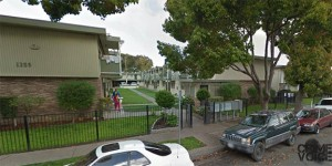Police were called to an apartment in this neighborhood twice in February for domestic violence.