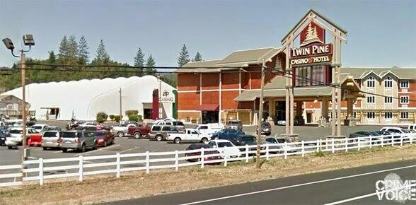Twin Pine Casino in Middletown. Dunlap left key evidence here.