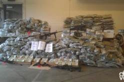 $2.5 Million in Pot and Ammunition Seized