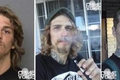 Man arrested after showing gun