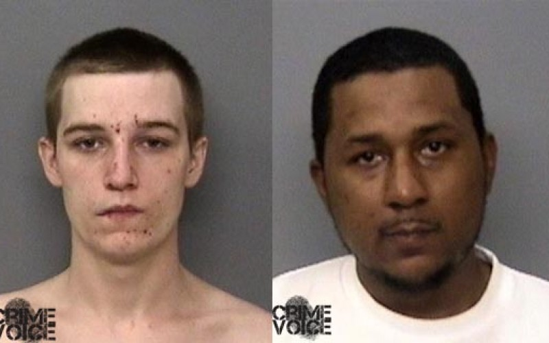 Dispute leads to armed robbery arrest for two men