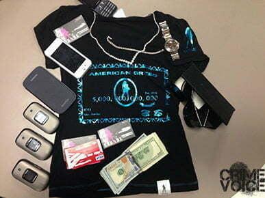 Items taken in evidence against Jackson.