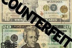Sheriff's Office Search for Counterfeiters