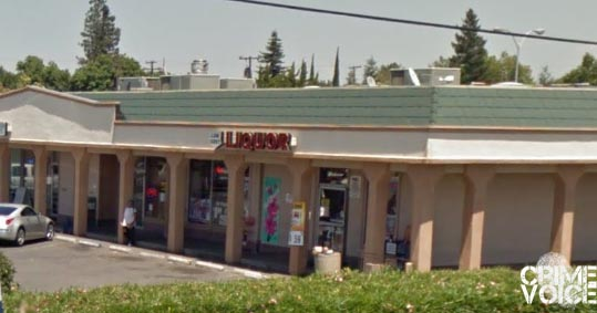 The hit and run occurred outside the Low Cost Liquor store on Sacramento Ave.