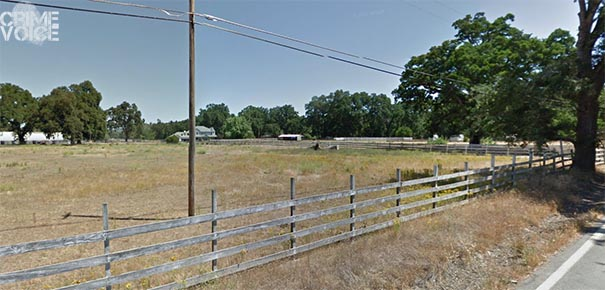 Rural Lower Lake. Detectives served a warrant at Marcelino's home in this area.