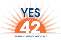 Voters to decide on Public Records act