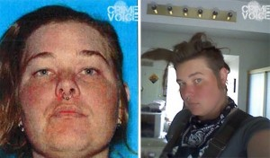 Two images of Charity Williams provided by Roseville Police.