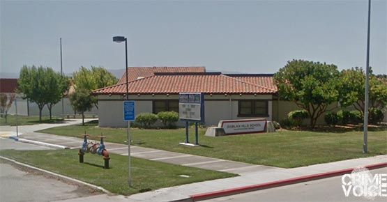 Gabilan Hills Elementary was also a target of the vandals.