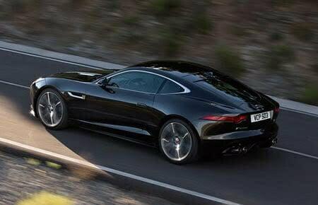 A black Jaguar will always draw attention.