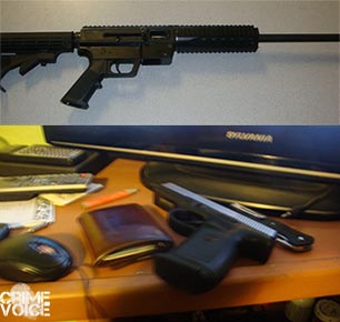 Deputies seized both a Carbine and handgun in the investigation.
