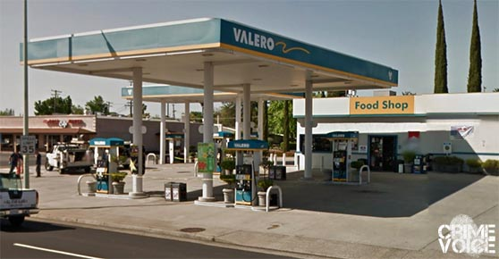 Valero Gas and store on East Bidwell