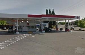76 Gas Station at 1024 E. Bidwell Street -- Folsom