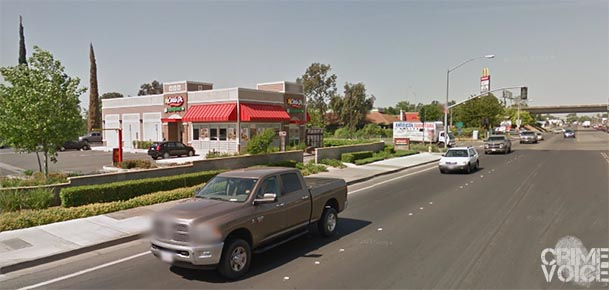 Slater reportedly stole the truck from this Woodland Carls Jr.