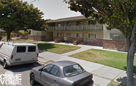Officials served the warrant at an apartment in this Central Avenue building.