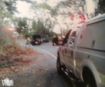 Emergency responders at the scene.