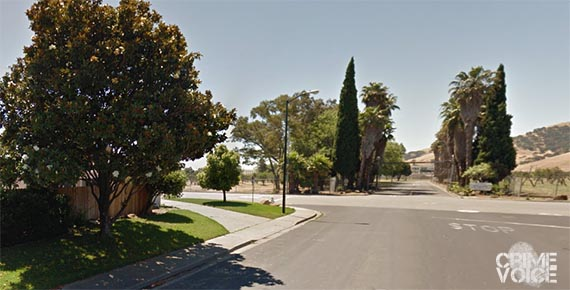 Police sought their suspects down Mariposa off California drive, and found Frazier and Wiley instead.