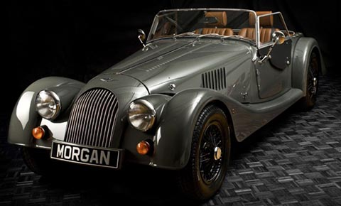 An example of a Morgan Sports Car, possibly similar to the one stolen.