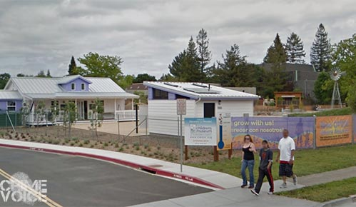 The Children's Museum of Sonoma County is in walking distance from the drug dealer's apartment.