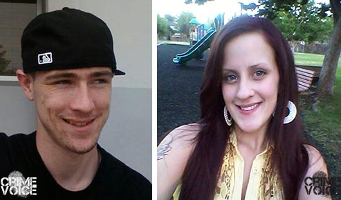 Tyler Woods and Krystal Kerby - images from Facebook.