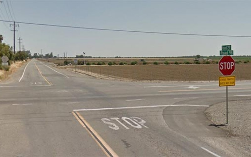 Motorist Hits California Highway Patrol Car, Suffers Major Injuries